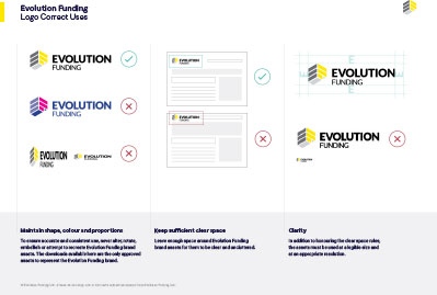Evolution Funding Logo Guidelines
